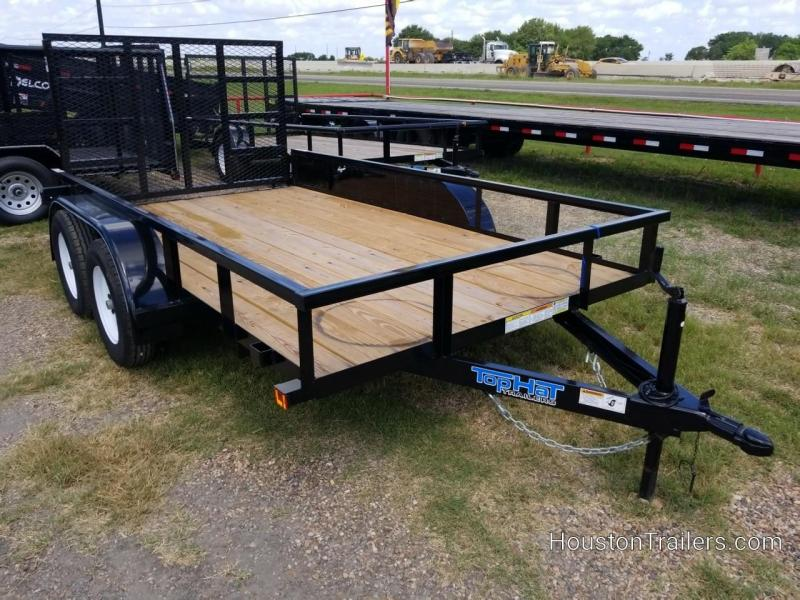 "2019 Top Hat Trailers 12' x 77"" LDX Utility TH-213"