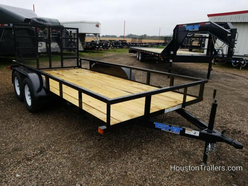 2019 Top Hat Trailers 14'  LDT Utility Trailer TH-161