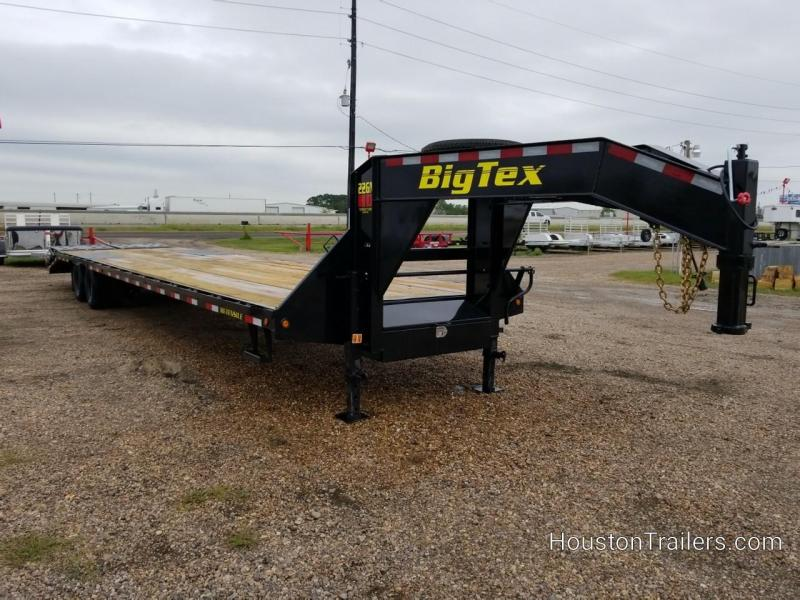 2019 Big Tex Trailers 35' + 5' 22GN Flatbed Trailer BX-157