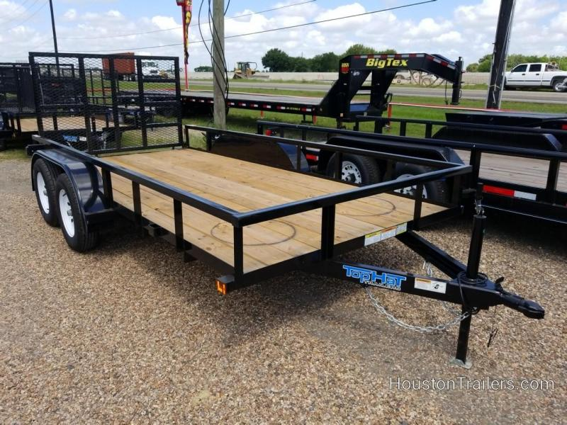 "2019 Top Hat Trailers 14' x 77"" LDX Utility Trailer TH-214"