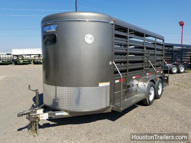 2018 Top Hat Brahma Livestock / Cattle Trailer TH-117