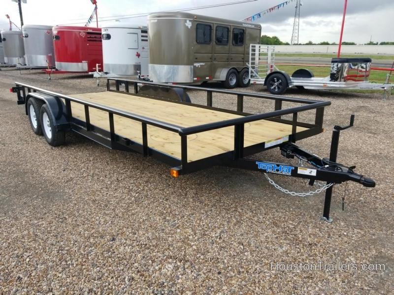 "2019 Top Hat Trailers 20' x 83"" MP Utility Trailer TH-147"