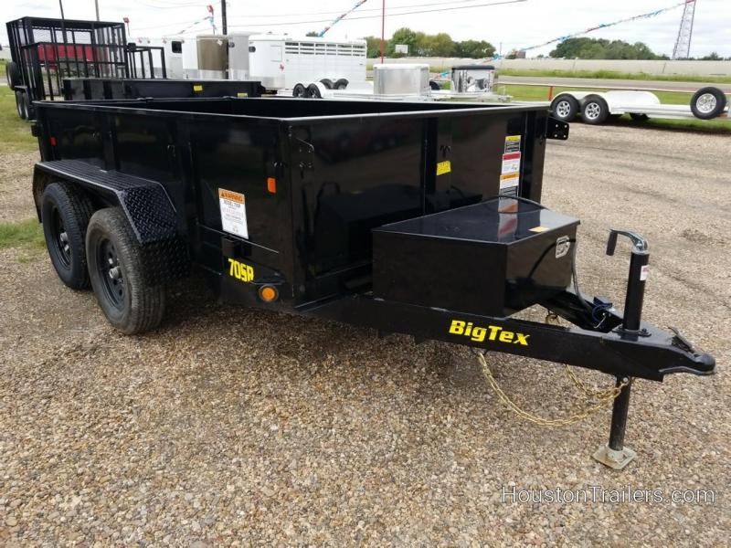 2019 Big Tex Trailers 10' x 5'  70SR Dump Trailer BX-160