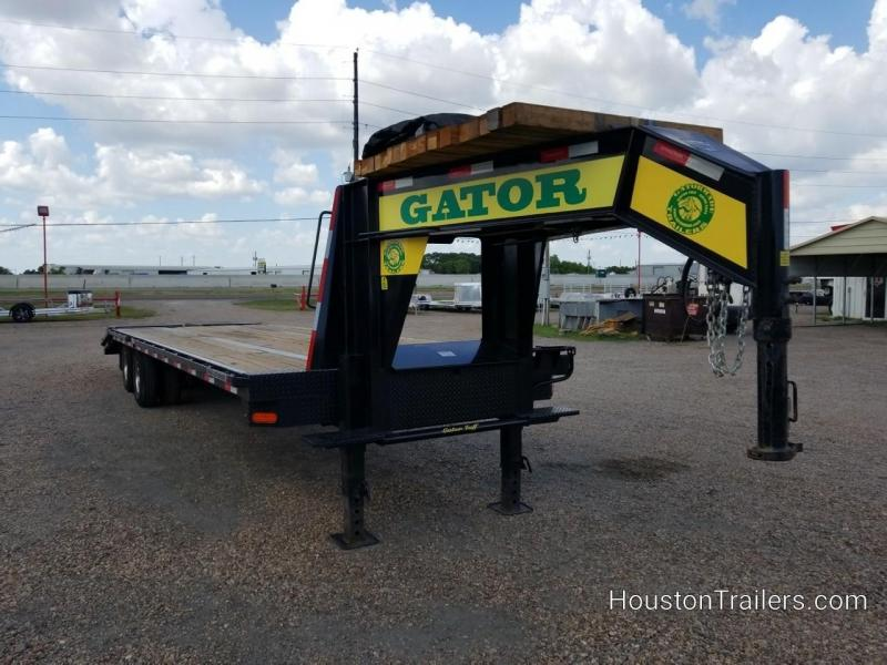 2018 Gatormade Trailers 25' + 5'  Deckover Flatbed Trailer CO-1045
