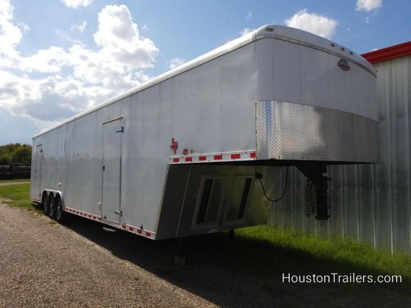 2017 Cargo Mate Eliminator 40' GN Enclosed Cargo Trailer