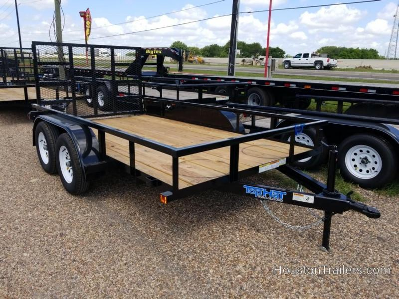 "2019 Top Hat Trailers 12' x 77"" LDX Utility Trailer TH-212"