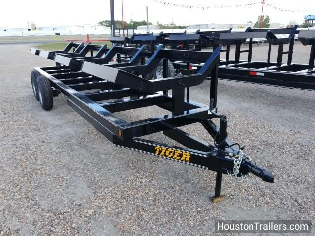 2018 Tiger Trailers 4820T 4 Bale Hay Trailer TI-13