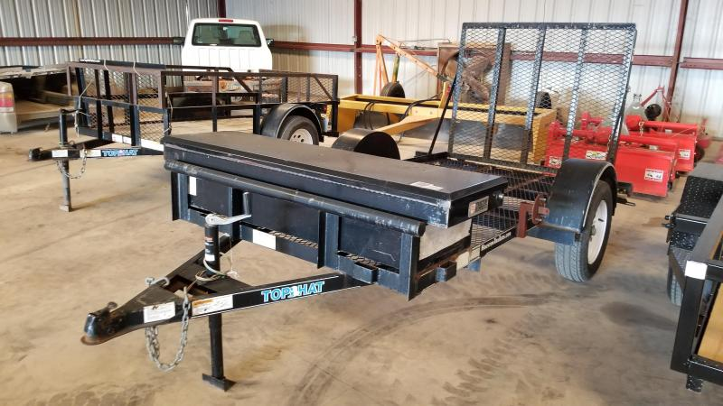 2009 Top Hat Trailers 5' x 10' Utility Trailer #8025