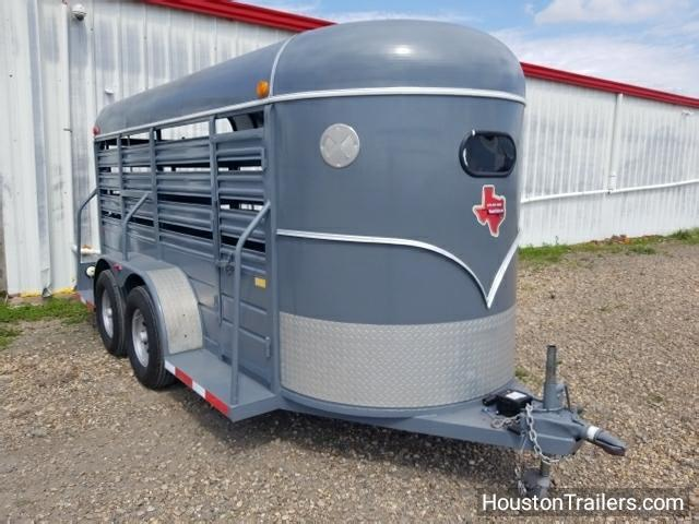 2005 W-W Trailer 14' Stocker Livestock Trailer 8050