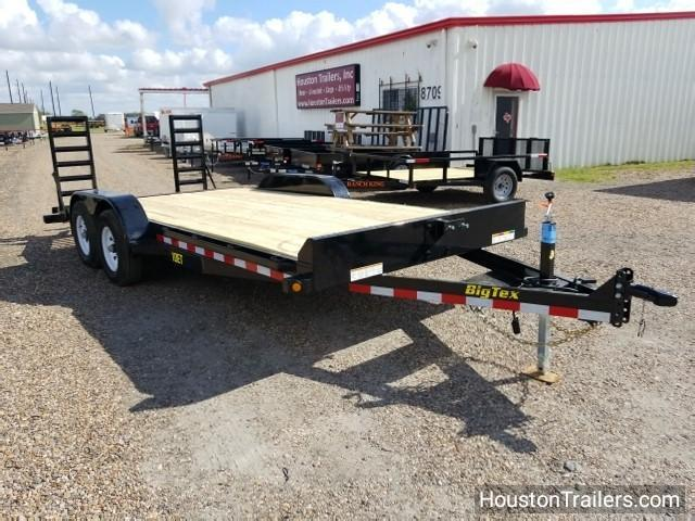 "2018 Big Tex Trailers 10ET 18' X 83"" Equipment Trailer BX-112"