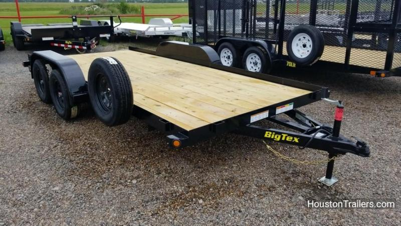 2018 Big Tex Trailers 16' 60CH Car / Racing Hauler Trailer BX-142