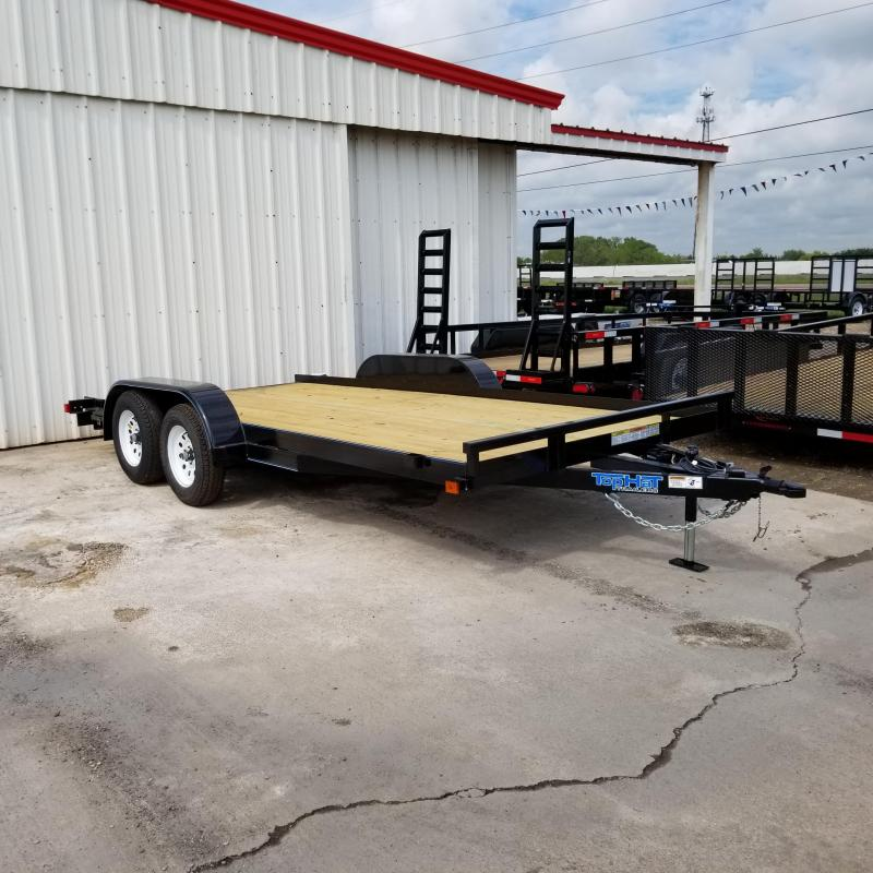 2018 Top Hat Trailers 16' x 7'  CH Car / Racing Trailer TH-96