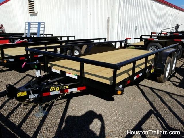 2018 Big Tex Trailers 16' x 7' 10PI Utility Trailer BX-125