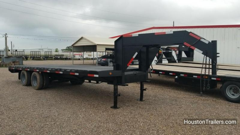 2012 Apache Trailers 24k Flatbed 24' Trailer CO-1031