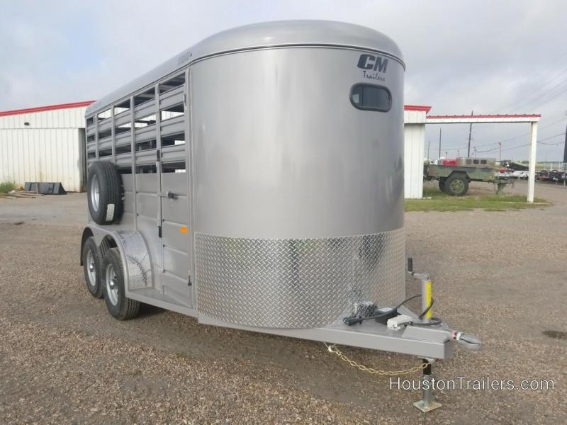 2019 CM Trailers 14' x 6' Stocker Livestock / Cattle Trailer CM-61