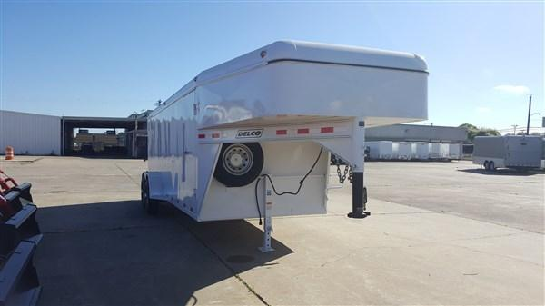 "Delco Trailers 6'8"" x 20 GN Enclosed Cargo 14k DEL-13"