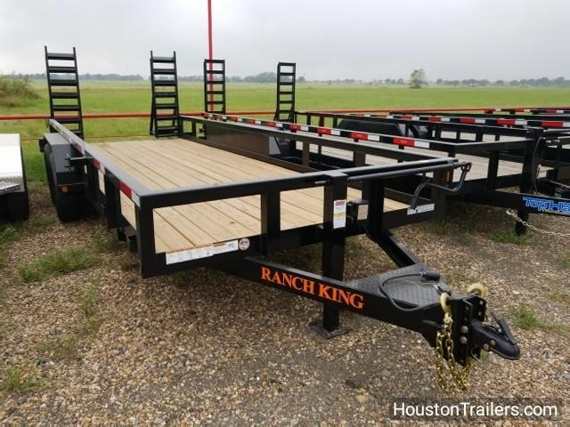 "2017 Ranch King Trailers 20' X 6'10"" Utility Trailer RK-13"