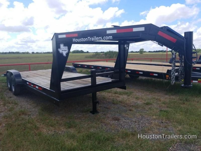2017 Texas Trailers 18' Low Boy Equipment Trailer CO-1044