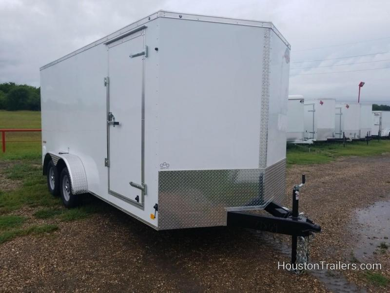 2019 Cargo Mate 16' x 7' Enclosed Cargo Trailer FR-57