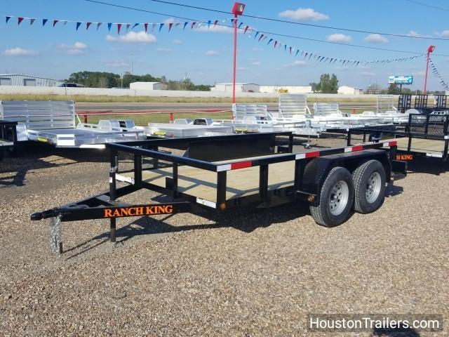 2018 Ranch King 12' x 6' Utility Trailer RK-52