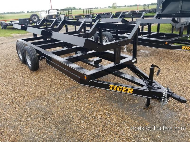 2018 Tiger 4816T 3 Bale Hay Trailer TI-23