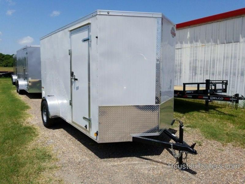 "2020 Cargo Mate E-Series 6' x 12' x 6'6"" Enclosed Cargo Trailer FR-89"