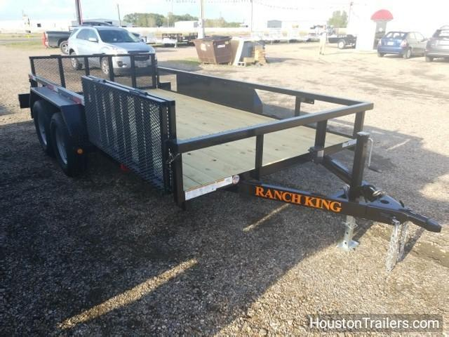 2018 Ranch King 14' Utility Trailer UTV RK-39