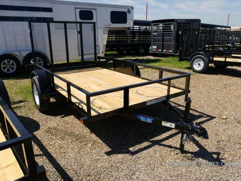 "2019 Top Hat 72"" x 10' Utility Trailer TH-196"