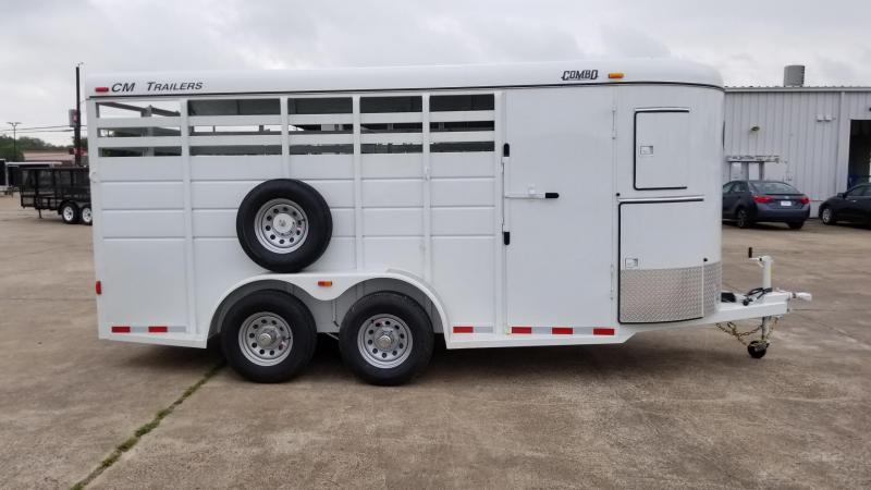 2017 CM Trailers 2 Horse / Combo 16