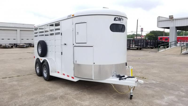 "2017 CM Trailers Combo Livestock / Horse 16' x 6' x 6'6"" CM-14"
