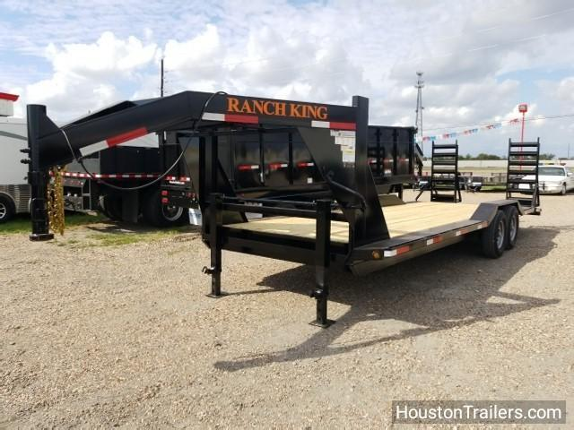 2018 Ranch King 24' Lowboy Utility Trailer RK-54