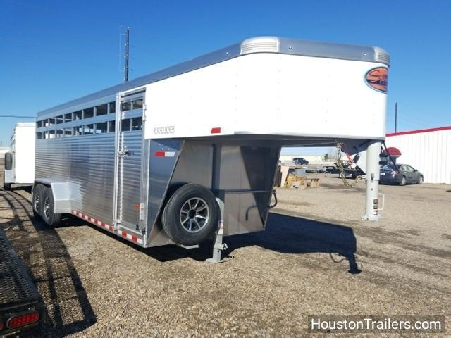 2018 Sundowner Trailers 20' Rancher Express GN Livestock / Cattle Trailer SD-72