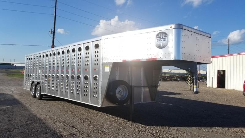 Merritt Trailers 28' Cattle Drive TA Livestock Trailer