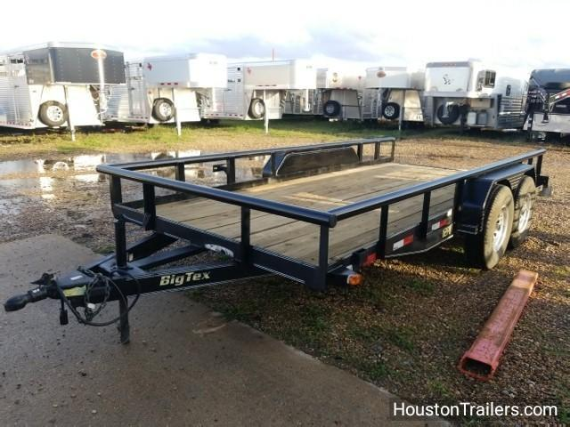 2006 Big Tex Trailers 16' 12PI Utility Trailer 8037