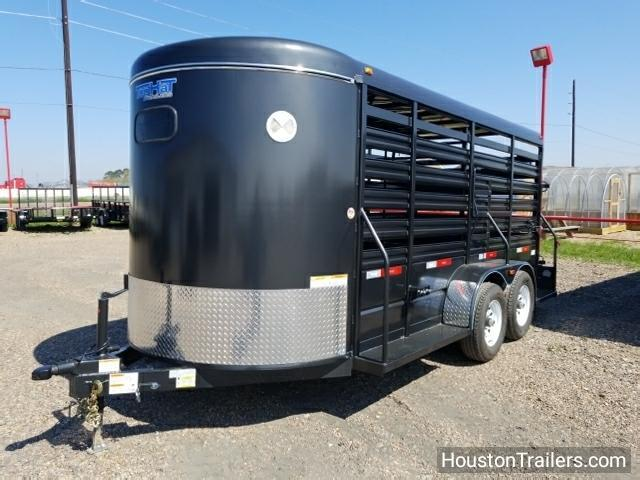 2018 Top Hat 16' Brahma Livestock / Cattle Trailer TH-116