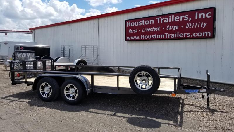 2018 Top Hat Trailers 16' x 6.5'  MP Utility Trailer TH-77