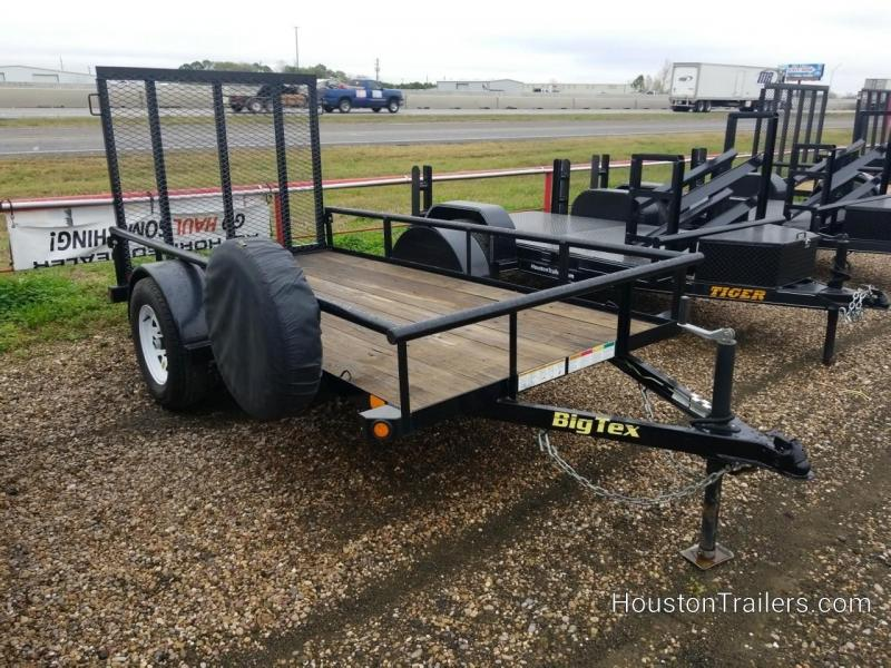 2016 Big Tex Trailers 10' 30SA Utility Trailer 8080
