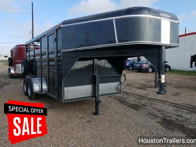 "2018 Calico Trailers 16' x 6'8"" x 7' Trailer 3 Horse GN CLO-15"