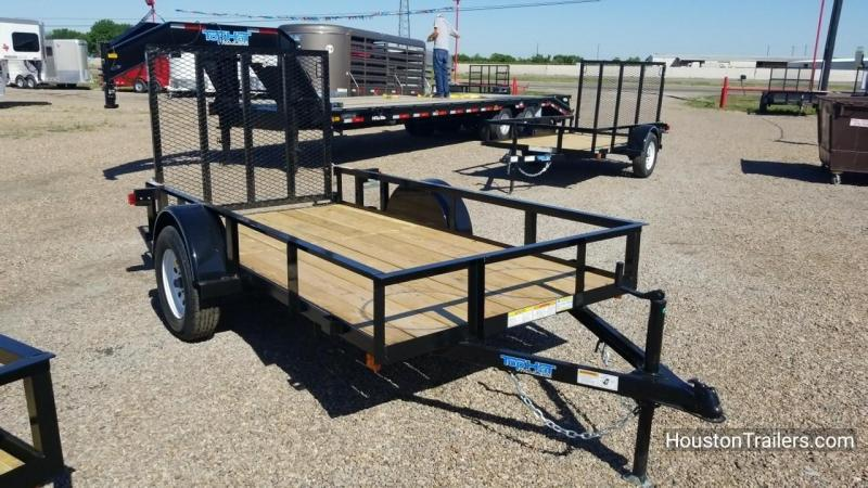 2018 Top Hat Trailers 10' x 5' DSA Utility Trailer TH-125