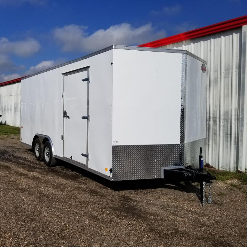 "2018 Cargo Mate Trailers 20' x 8'5"" Enclosed Cargo Trailer FR-28"