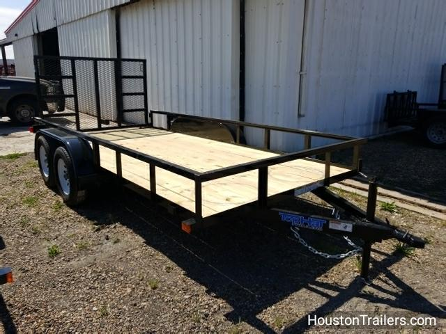 "2018 Top Hat 14' x 77"" LDT Livestock Trailer TH-120"