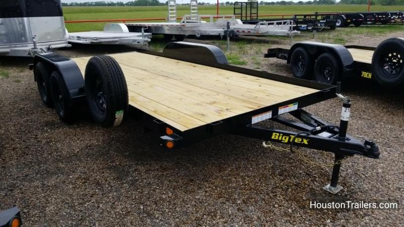 2018 Big Tex Trailers 16' 60CH Car / Racing Trailer BX-145