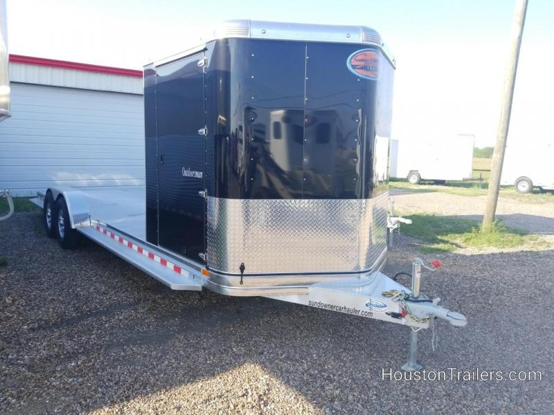 2019 Sundowner Trailers 27' Outdoorsman Car / Racing Trailer SD-81
