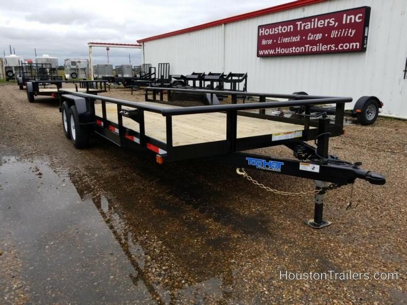 2019 Top Hat Trailers 20' HP Utility Trailer TH-150