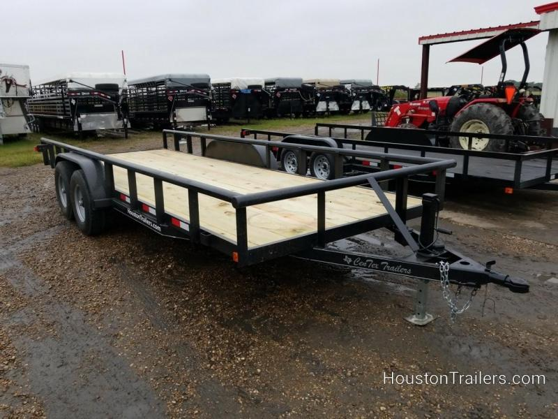 2019 Centex Trailers 20' Pipetop CT Utility Trailer CNTX-109