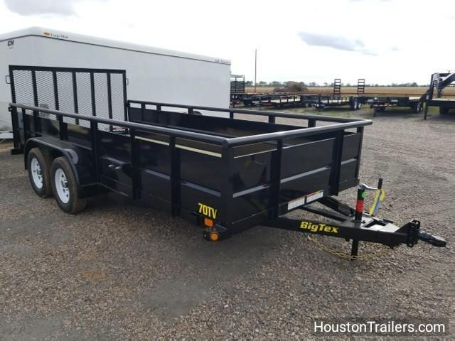2018 Big Tex Trailers 70TV 16' x 7' Utility Trailer Landscape BX-120