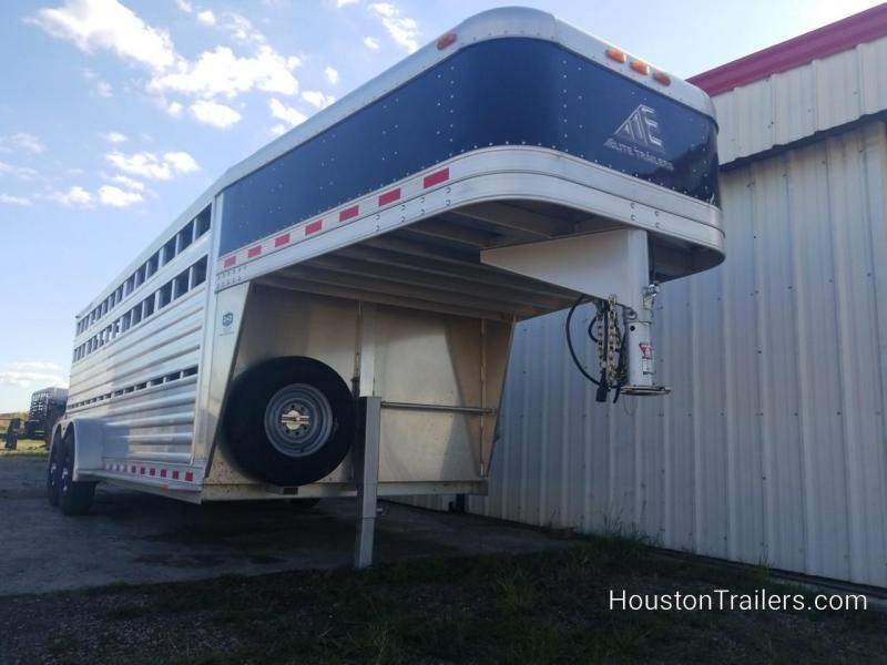 2016 Elite Trailers 20' Stock / Livestock Trailer CO-1055