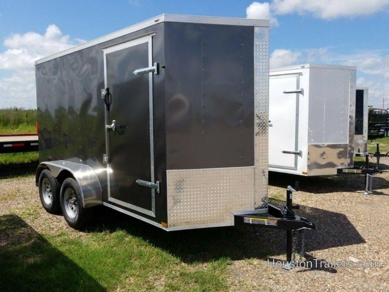 2019 Lark 6' x 12' Enclosed Cargo Trailer LK-105