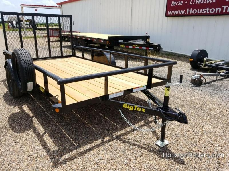 "2019 Big Tex Trailers 35SA Utility 77"" x 12"