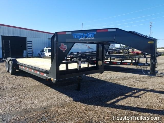 2018 Top Hat Trailers 24' x 7' Lowboy Utility Trailer TH-109